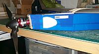 Name: Franken Glider 5.jpg Views: 8 Size: 55.4 KB Description: Notice the downthrust. Straight from the OSG! Also a  couple of cut up plastic spoons make cool looking air intakes