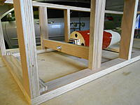 Name: DSCN1627.jpg Views: 121 Size: 748.9 KB Description: In this case use the prop shaft to hold the front of the fuselage, if no motor was there I'd attach via motor mount of directly to the fire wall