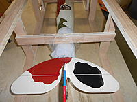 Name: DSCN1630.jpg Views: 135 Size: 744.8 KB Description: wrapped the tail with foam, secures with tape, and tape to the installed cross brace.