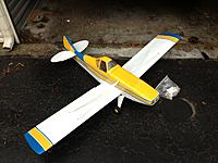 Name: for sale 227.jpg Views: 56 Size: 231.7 KB Description: ARF with stock screws, parts, and spare aileron servo covers