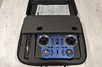 They also include foam to protect the screen, as well as gimbal protectors