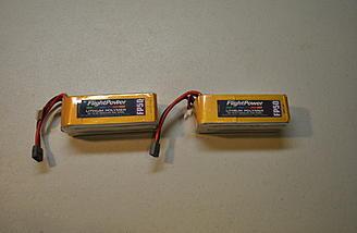 Flightpower 50C 5s 5000 packs