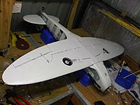 Name: IMG01171-20111003-1516.jpg Views: 185 Size: 200.2 KB Description: Undersides painted off-white today, certainly not air brush quality lol, but should look effective enough in the air
