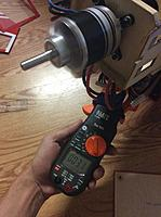 Name: IMG_0321.jpg Views: 210 Size: 397.3 KB Description: First run with no load, the motor draws 3.1 amp