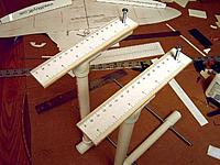 Name: Rulers mounted to upright bolts.JPG