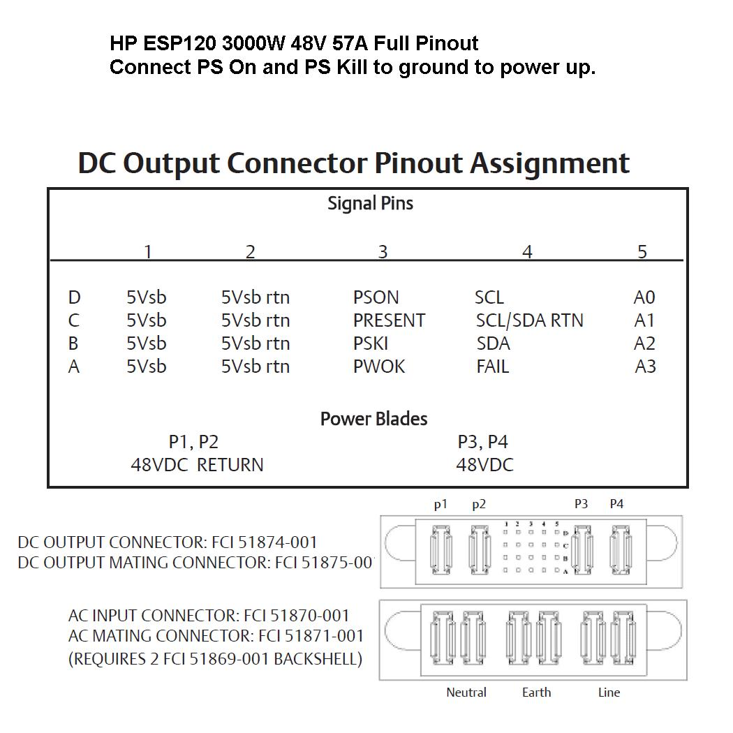 Awesome Hp Server Power Supply Pinout Photos - The Best Electrical ...