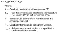 Name: 10226.png Views: 188 Size: 7.2 KB Description: Temperature coefficient of resistance formula