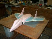 Name: HPIM3705.jpg Views: 376 Size: 79.6 KB Description: Ready for the maiden. Will decorate after I know she flies.