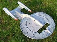 Name: Enterprise-D_Decopauge.jpg Views: 248 Size: 136.9 KB Description: The final, flyable, awesome Enyerprise-D! Decopauge!