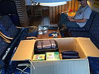 """Name: IMG_3204.jpg Views: 79 Size: 719.1 KB Description: Unloading our """"supply wagon""""."""