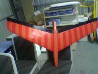 Name: Image025.jpg Views: 217 Size: 48.6 KB Description: bottom of the wing , showing how smooth she is , goop will be done soon  , its going to stay this way for a long time.. It rocks