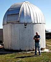 Name: Don 7& MPO.jpg Views: 52 Size: 83.7 KB Description: Miller's Pond Observatory.