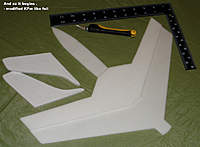 Name: FS_FunJet_Alpha_B_1a.jpg Views: 406 Size: 80.0 KB Description: wing step stuck down with elmers spray glue whiel it was wet  = permanat strong bond.  i will go round edges with CA when all set .