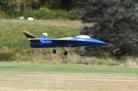 Name: IMG_2129.jpg Views: 185 Size: 52.4 KB Description: Blue Preditor UCAV flown by Lynn Borrowman 8.5 lbs, 3300 watts.