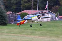 Name: IMG_2202.jpg Views: 176 Size: 66.8 KB Description: Extreme Flight Yak 54 flown by Dan Lanis. 110 inch wingspan. 25 lbs. 24X10 prop and 12 series-10,000 Mah lipo.
