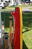 Name: IMG_58.jpg Views: 100 Size: 111.9 KB Description: Fuselage on jig made of scrap lumber.