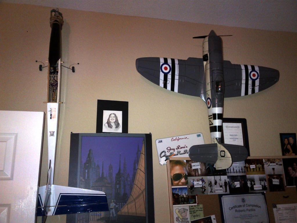 Name: spirit2M-seafury.jpg Views: 252 Size: 111.3 KB Description: my GP Spirit 2M sailplane (note power/landing gear conversion) and to the right the E-flite Sea Fury (original release)