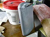 Name: IMG_9611.jpg Views: 75 Size: 253.3 KB Description: Wet Paint!     Humbrol #56  Metallic Aluminum. Dries to a flat finish.