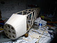 Name: IMG_9701.jpg Views: 76 Size: 204.8 KB Description: The sheet aluminum from beer cans will work great on the forward fuselage.
