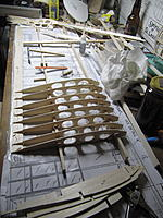 Name: IMG_9998.jpg Views: 61 Size: 168.5 KB Description: The pattern for the ribs could've been better, each one is a project, trimming and sanding with an emery board to get them to fit.