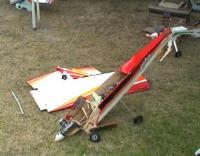 Name: Estrellado.jpg Views: 234 Size: 88.5 KB Description: Así quedó el avión después del encontronazo en aire