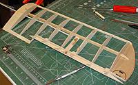 Name: lower wing aileron setup.jpg Views: 379 Size: 130.3 KB Description: Setup showing aileron linkage, excluding bell crank to aileron link