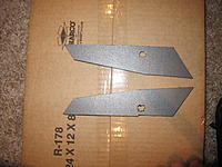 Name: IMG_0974.jpg Views: 100 Size: 248.7 KB Description: 6mm Depron doublers to put around the nose wheel