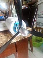 Name: 20140518_171409[1].jpg Views: 94 Size: 365.8 KB Description: FMS B-25 spinner