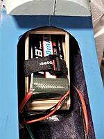 Name: 20210721_155510.jpg Views: 39 Size: 701.6 KB Description: 4s 3300mah all the way back for neutral CG