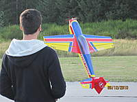 Name: Mike flying flops clown2.jpg Views: 52 Size: 78.5 KB Description: Hovering into the wind