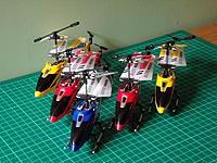 Name: S107 Full House.jpg Views: 43 Size: 251.0 KB Description: Some of my own Syma S107 helis