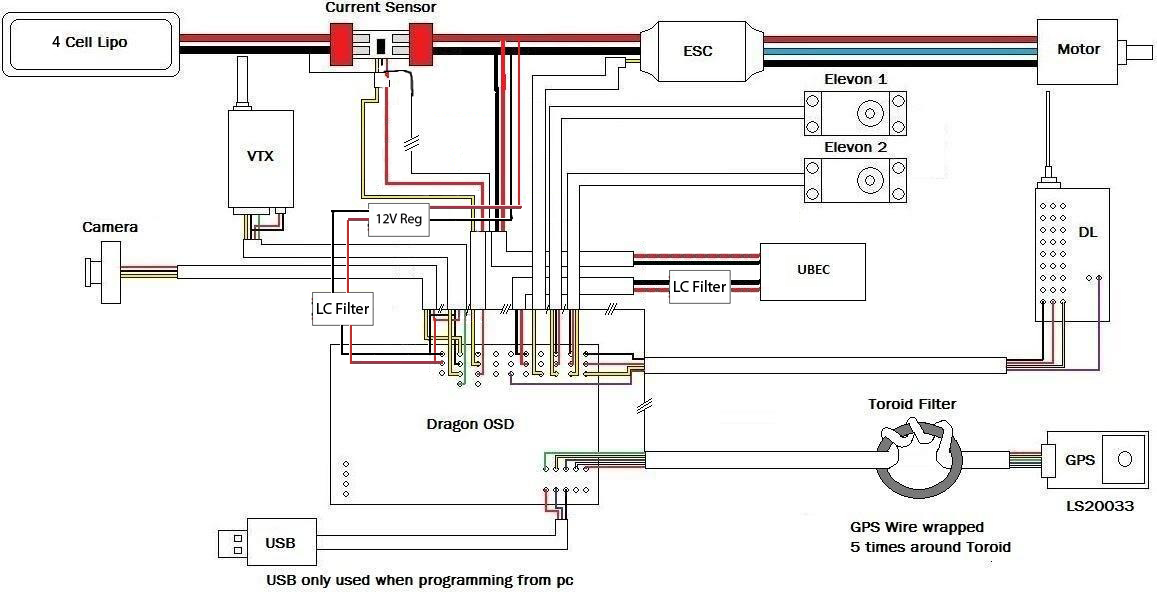 Name Wiring Diagram New To Eliminate Ground Loop For Delta Wing With
