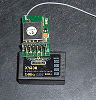 Name: Converted 4 to 6 Receiver.jpg Views: 485 Size: 57.4 KB Description: XY400 receiver with the 2 new 3 pin headers added.