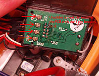 Name: unsolder.jpg Views: 477 Size: 89.8 KB Description: Unsolder both sides of where the arrows points to. Then seperate the 2 PCB's.