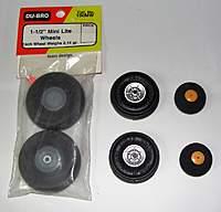 Name: DSC00562.jpg Views: 869 Size: 43.9 KB Description: Graupner wheels sandwiched between Dubro Mini Lites and stock wheels.