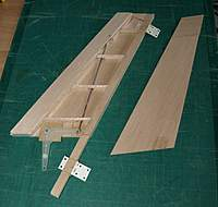 Name: Picture or Video 079.jpg Views: 148 Size: 115.0 KB Description: Cut the hinge slots now so that the debris is not floating about inside, moved the upper hinge up for the bigger rudder (was toying with having three hinges but they never line up!).