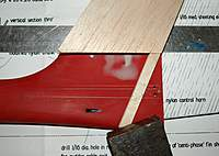 Name: Picture or Video 083.jpg Views: 138 Size: 74.7 KB Description: Trying the fin for fit just in case something is drastically wrong. Measure twice, cut once!!