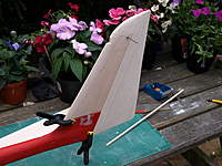 Name: Picture or Video 091.jpg Views: 151 Size: 85.9 KB Description: Some sanding done and a notch cut out for the tailplane drive.