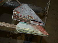Name: Picture or Video 098.jpg Views: 95 Size: 69.0 KB Description: Rudder mass balance, a large lump of lead!