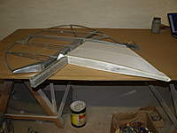 Name: Picture 054.jpg Views: 73 Size: 48.9 KB Description: Dry test fit of the hinges for alignment, good so far!