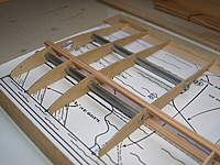 Name: Picture 093.jpg Views: 73 Size: 70.6 KB Description: Joiner tubes in ply ribs. New spruce for the spars.