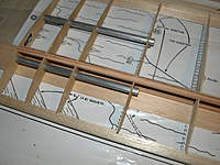 Name: Picture 105.jpg Views: 83 Size: 78.2 KB Description: Tubes have been epoxied in now, modded the first four spar webs by using 1/16th ply instead of balsa.