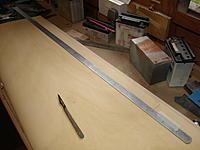 Name: P9299094.jpg Views: 146 Size: 480.4 KB Description: Marking the aileron cutout line.