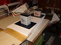 Name: PA229310.jpg Views: 62 Size: 442.8 KB Description: Clamped with the foam beds, a better idea.