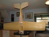 Name: P3049590 - Copy.jpg Views: 63 Size: 536.2 KB Description: Checking tailplane symmetry.