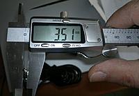 Name: Measure.jpg Views: 125 Size: 89.6 KB Description: Measurement of the diameter. Reads 3.5mm