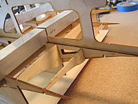 Name: 2013 02 12_2048.jpg Views: 503 Size: 180.9 KB Description: I decide to install these two rear formers at this time as well so that the ribs stayed square.  I need to sheet this area before taking it off the jig.