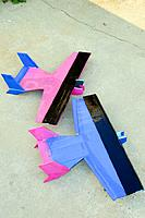 Name: 2-airframes-tops.jpg Views: 168 Size: 60.2 KB Description: Matching Funbat airframes (top)