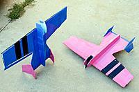 Name: 2-airframes-bottoms.jpg Views: 163 Size: 77.6 KB Description: Matching Funbat airframes (bottoms)