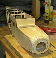 Name: DSCN9722.jpg Views: 131 Size: 120.1 KB Description: Sanded nose block and hatch to shape.